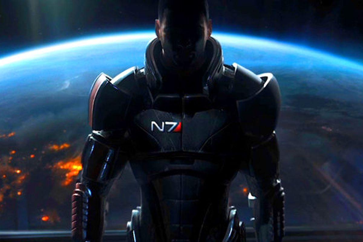 ME3 Shepard Planet