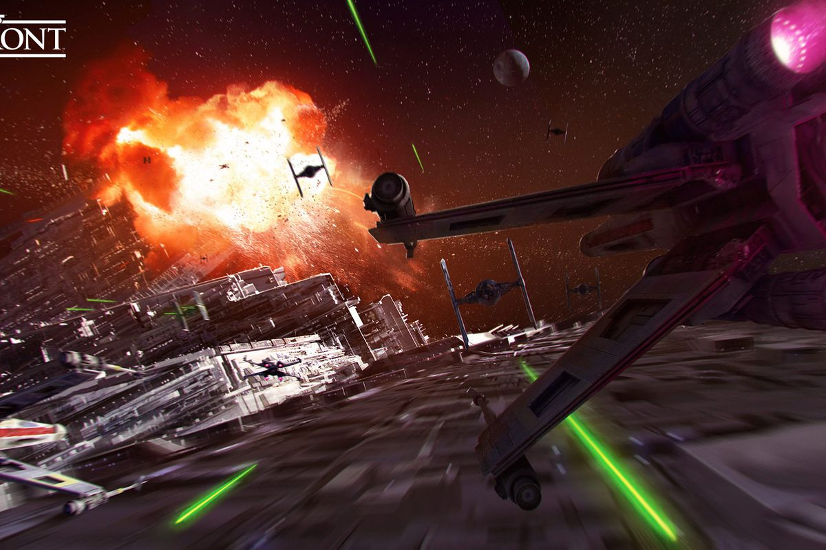 Blow up a Star Destroyer and the Death Star in Star Wars