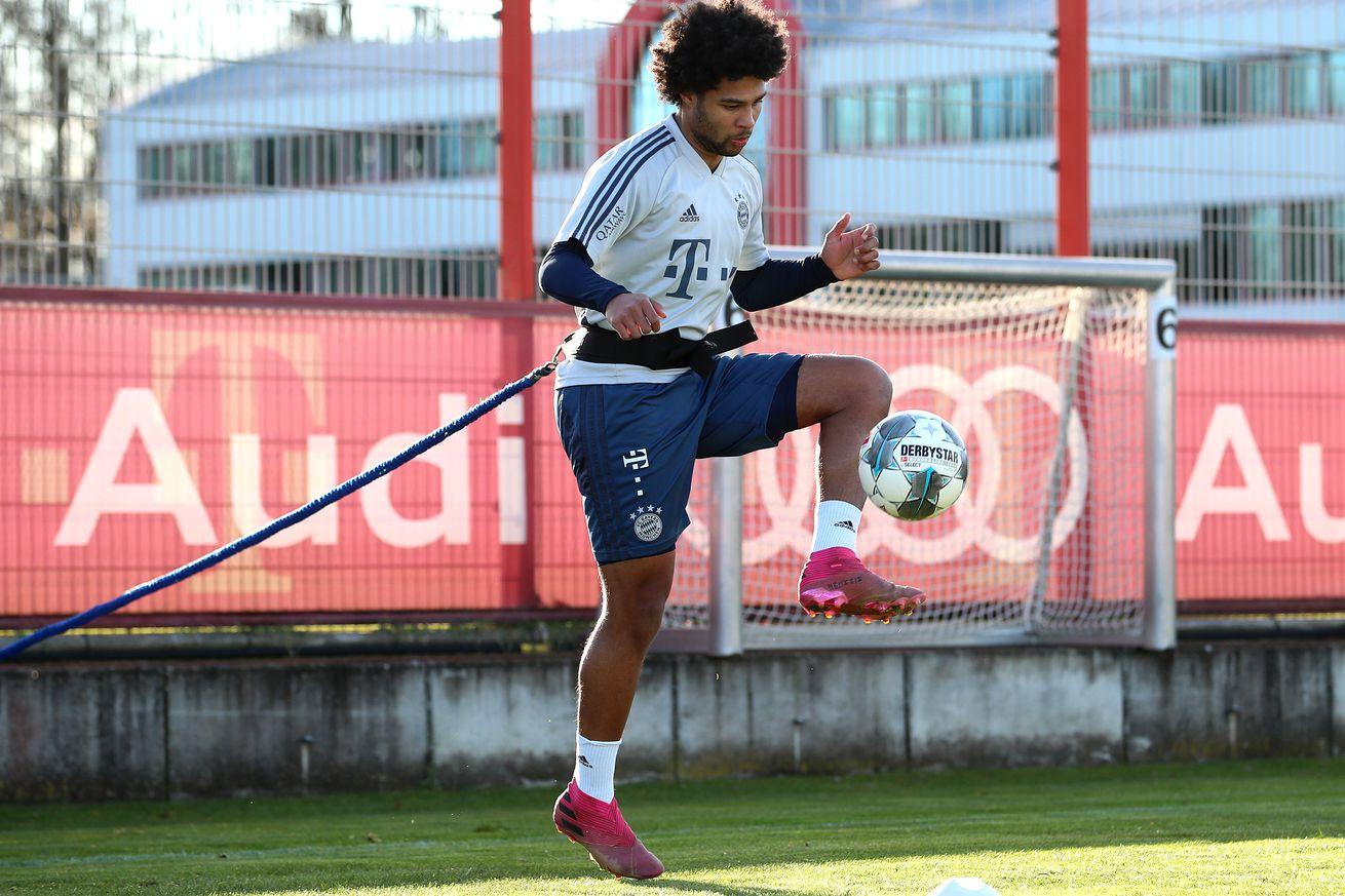 Bayern Munich receive huge boost as Serge Gnabry returns to team training