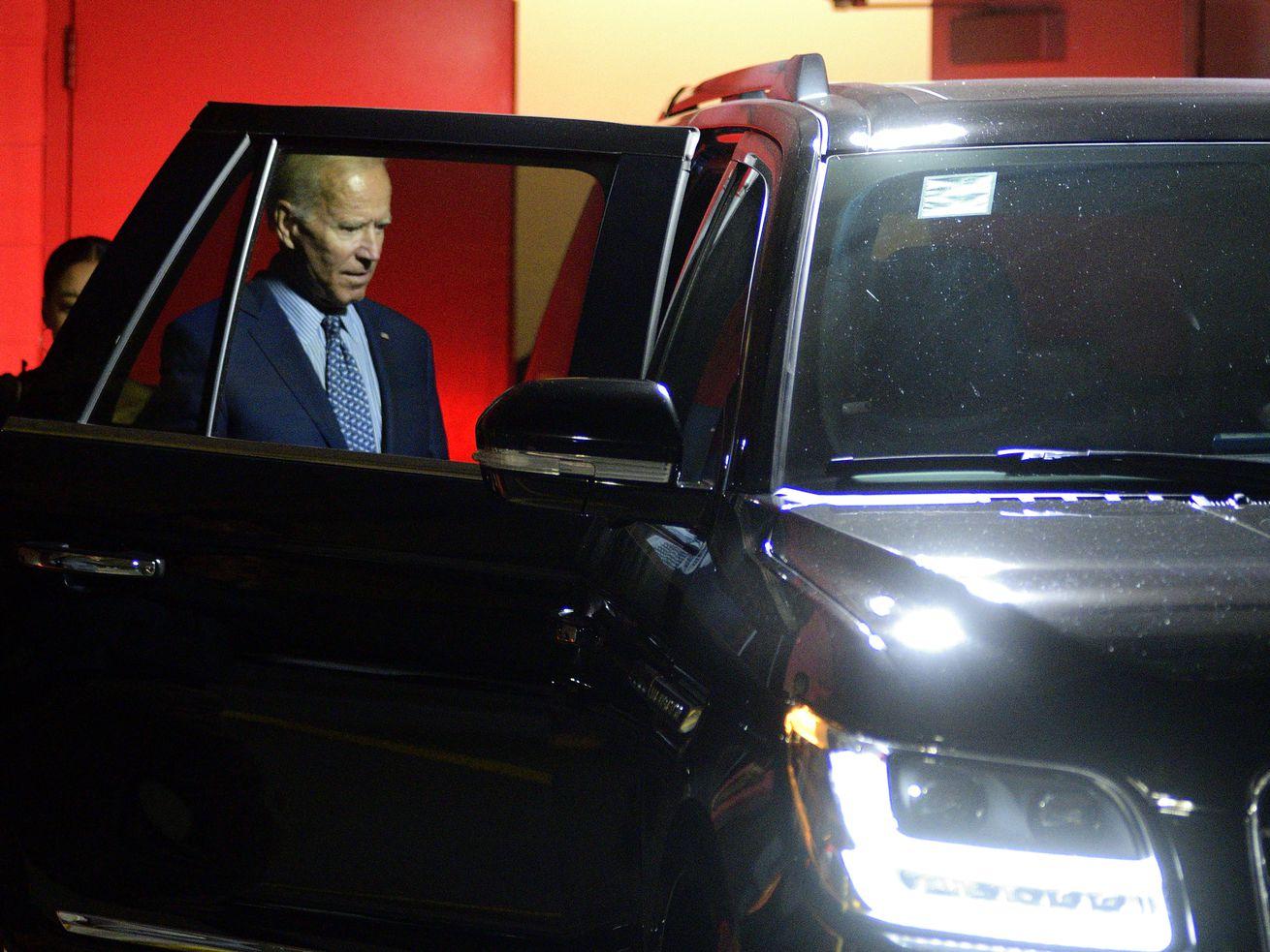 Joe Biden attends Fundraiser in Philadelphia