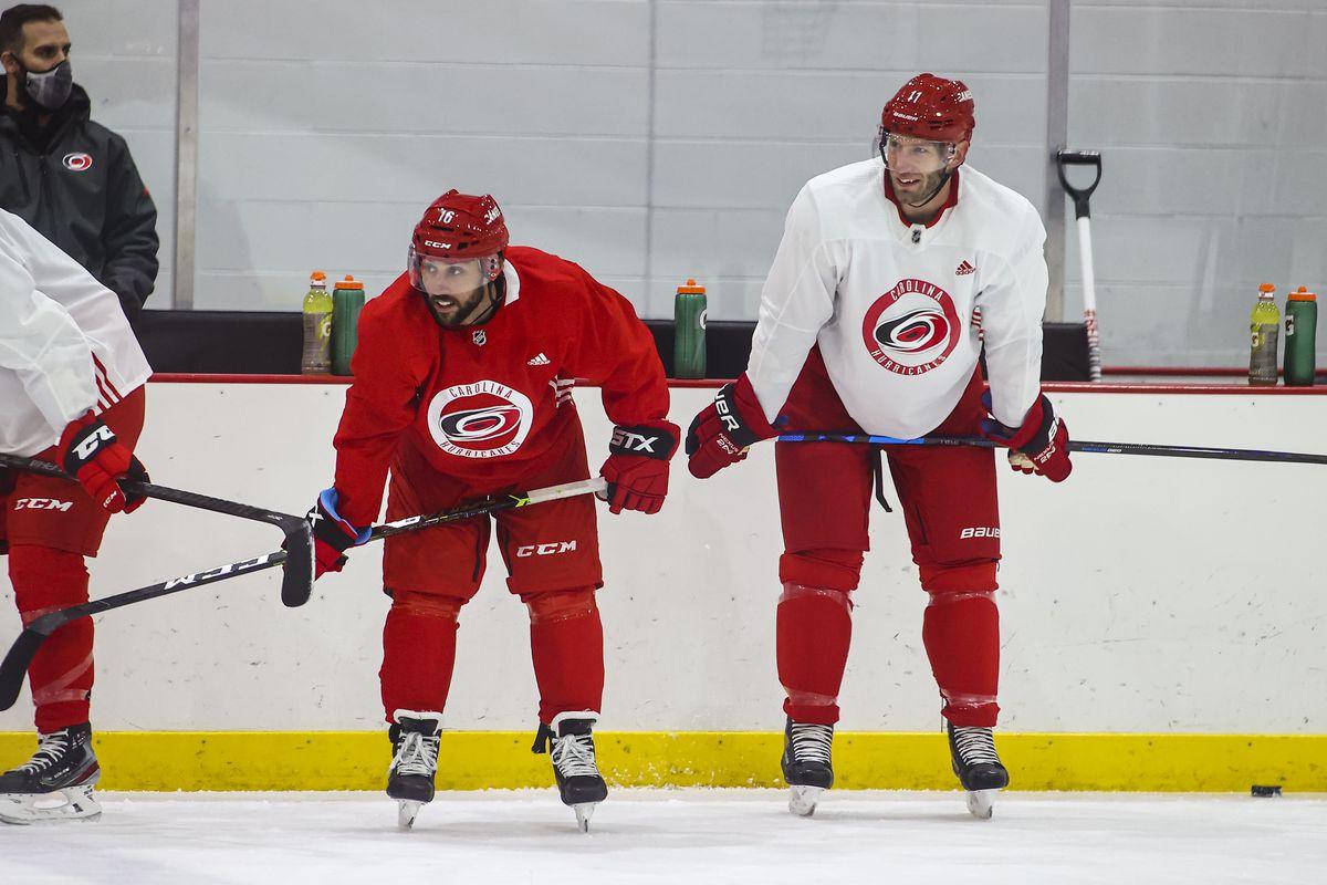 NHL: JAN 06 Hurricanes Training Camp