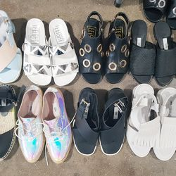Just a few styles in sizes 5.5 to 6.5.