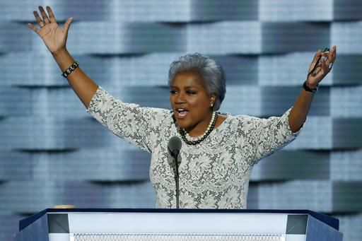 Democratic National Committee Vice Chair Donna Brazile speaks during the second day of the 2016 Democratic National Convention in Philadelphia. | AP Photo/J. Scott Applewhite