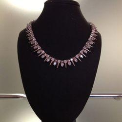 nOir Mini Punks Necklace, $80
