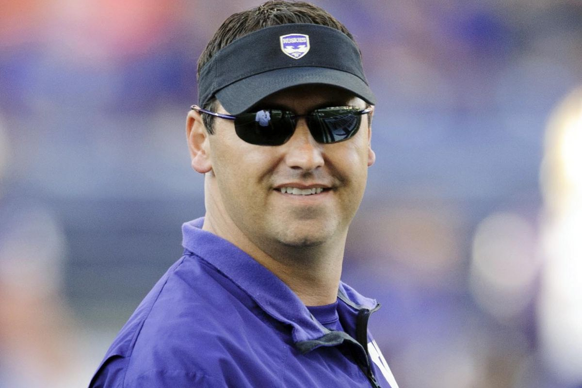 The Boise State game gave Sark a reason to smile - will he be smiling this Saturday?