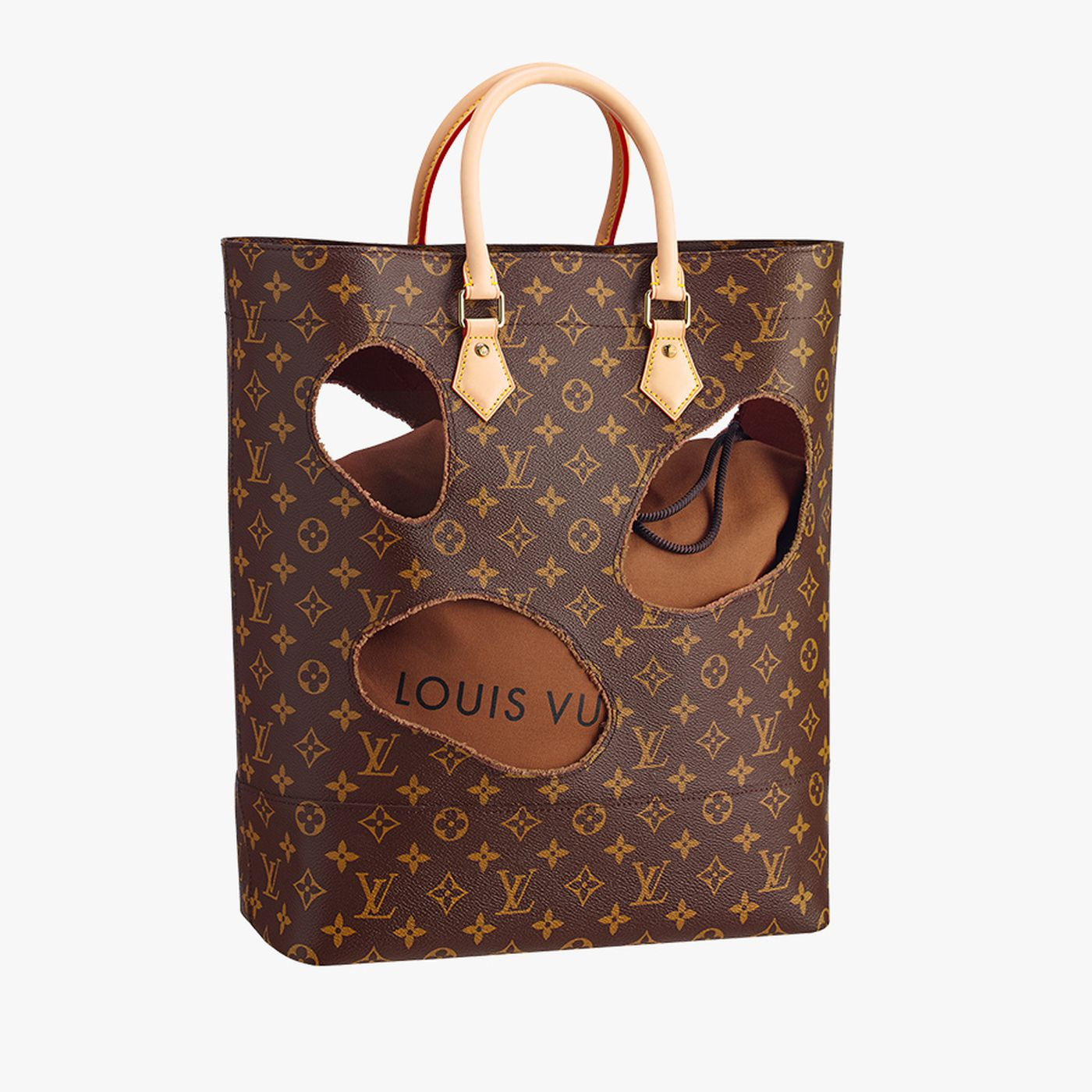 Louis Vuitton S 2 790 Bag With Very Large Holes Racked