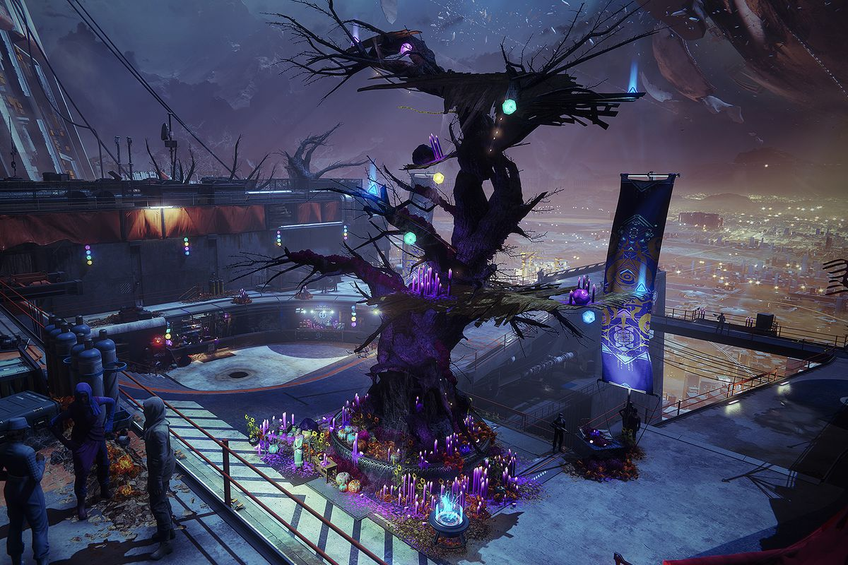Destiny 2 Festival Of The Lost 2020.Destiny 2 S Halloween Event Has Spooky Masks And A Haunted