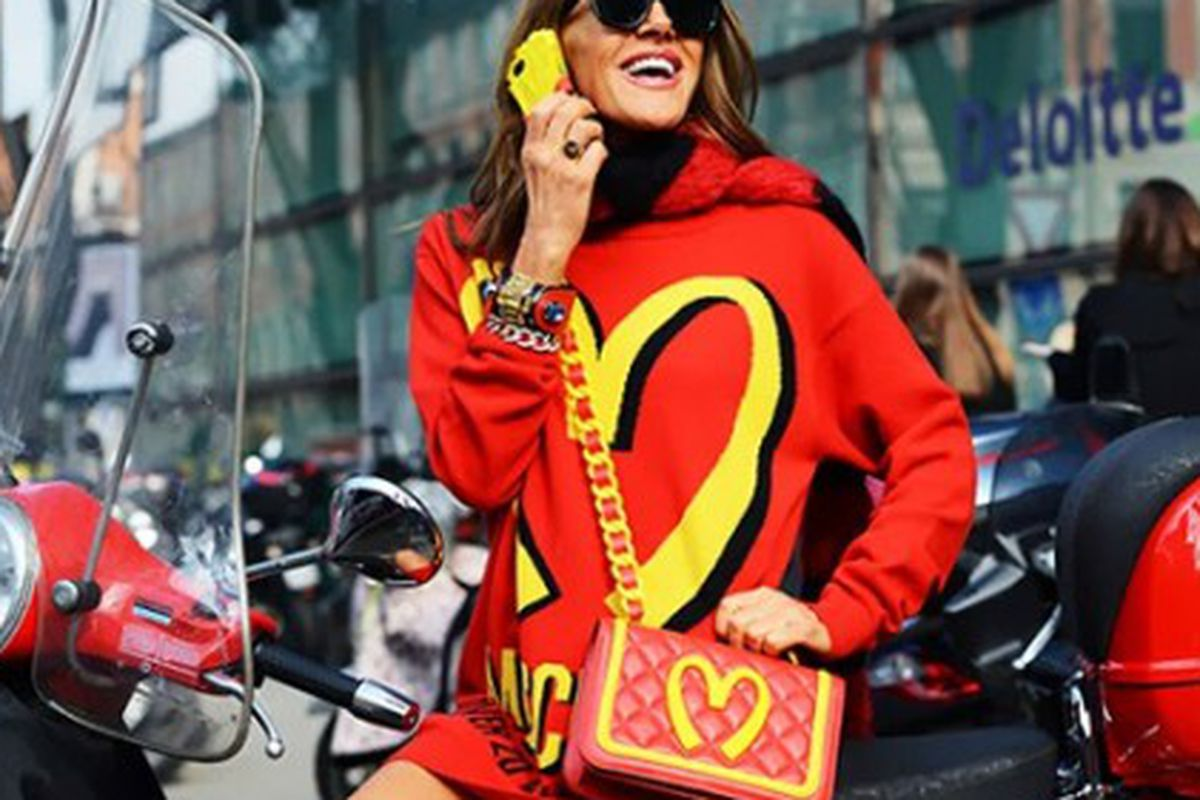"""Image via <a href=""""http://www.thefashionlaw.com/in-response-is-moschino-guilty-of-dilution/"""">The Fashion Law</a>."""