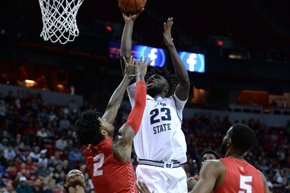 NCAA Basketball: Mountain West Conference Tournament- New Mexico vs Utah State