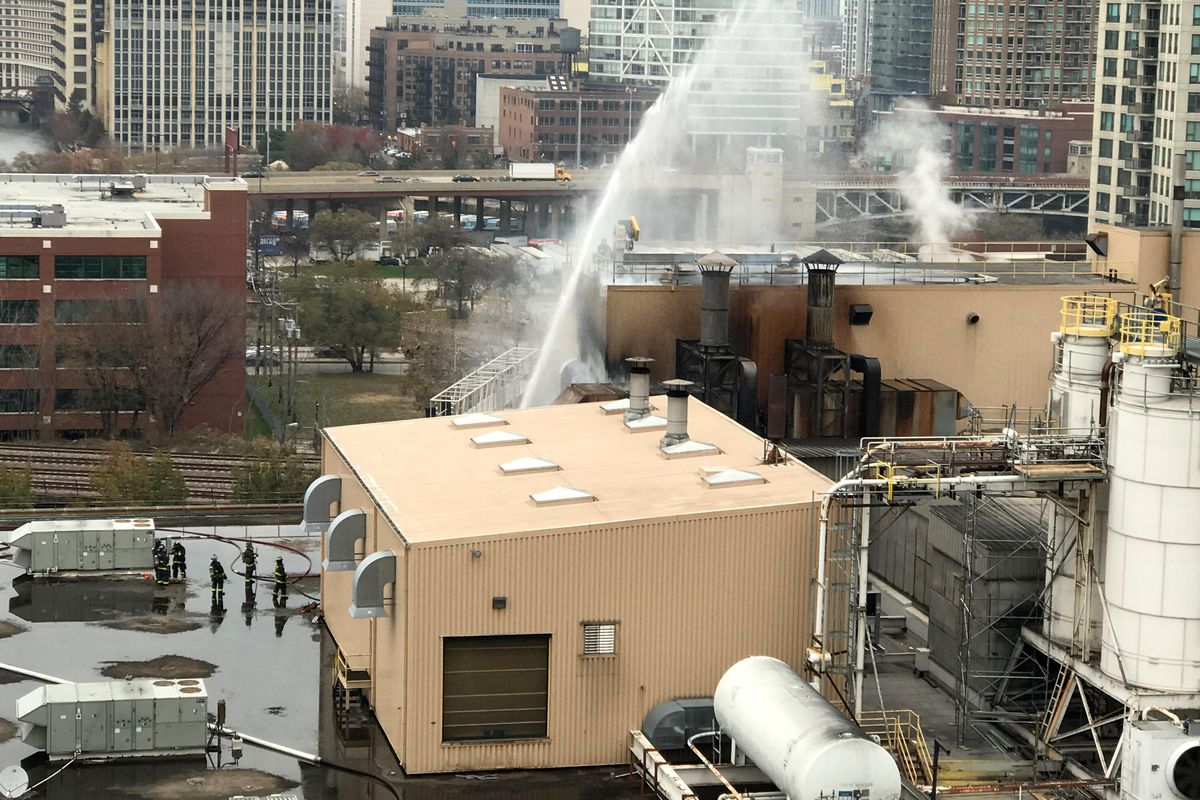 Another fire hits Blommer Chocolate factory, no injuries reported