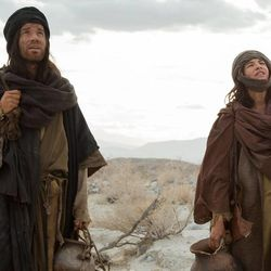 "A scene from ""Last Days in the Desert."""