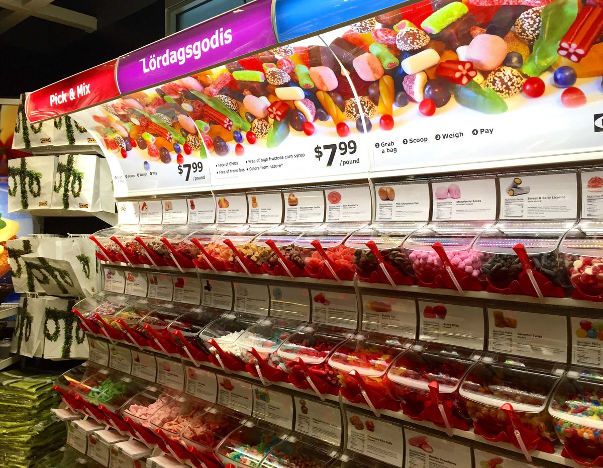 Ikea Debuts New In-Store Candy Shops With Swedish Gummies This ...
