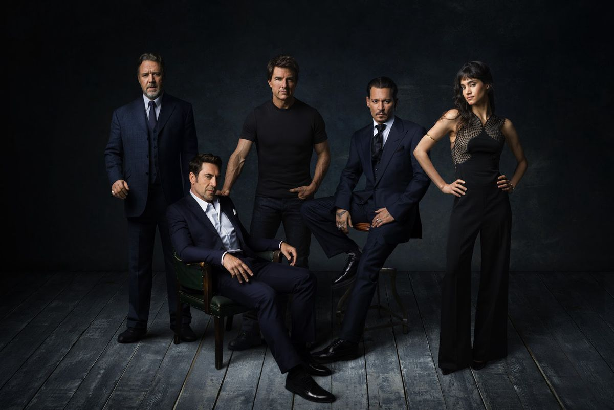 The stars of the Dark Universe. (Universal Pictures)