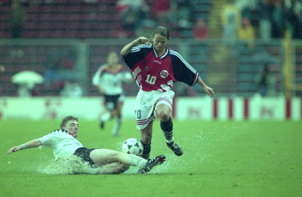 Germany v Norway - Women's world cup final 1995
