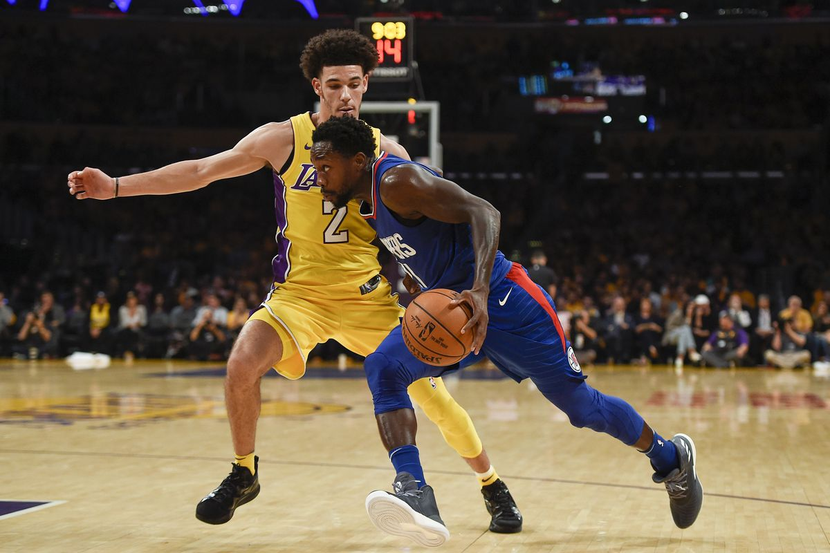 Patrick Beverley Unceremoniously Welcomes Lonzo Ball To