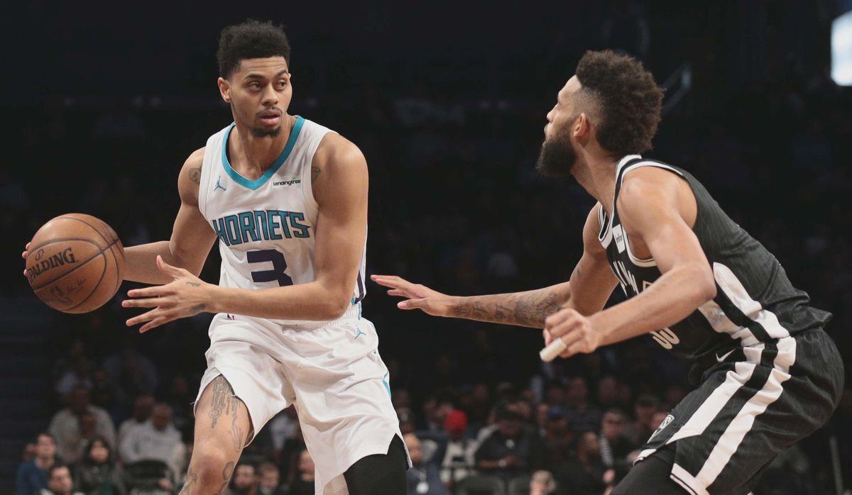 NBA: Charlotte Hornets at Brooklyn Nets