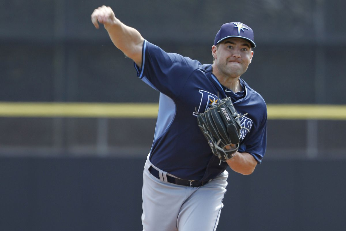 For the third time this year, Nate Karns reached double digits in strikeouts