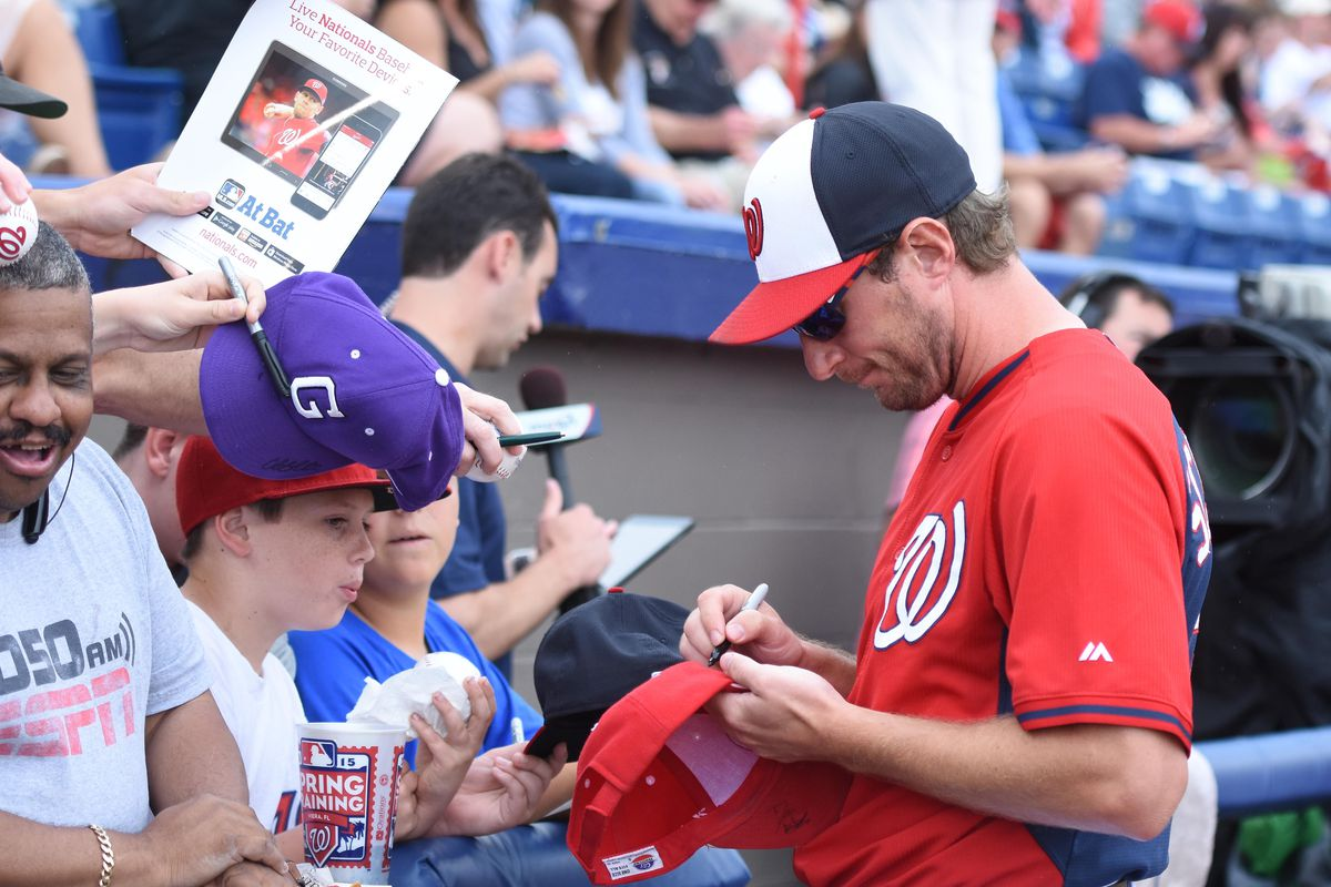 Giving Max Scherzer the opening day start will give the Nationals a terrific chance to market their new star pitcher.