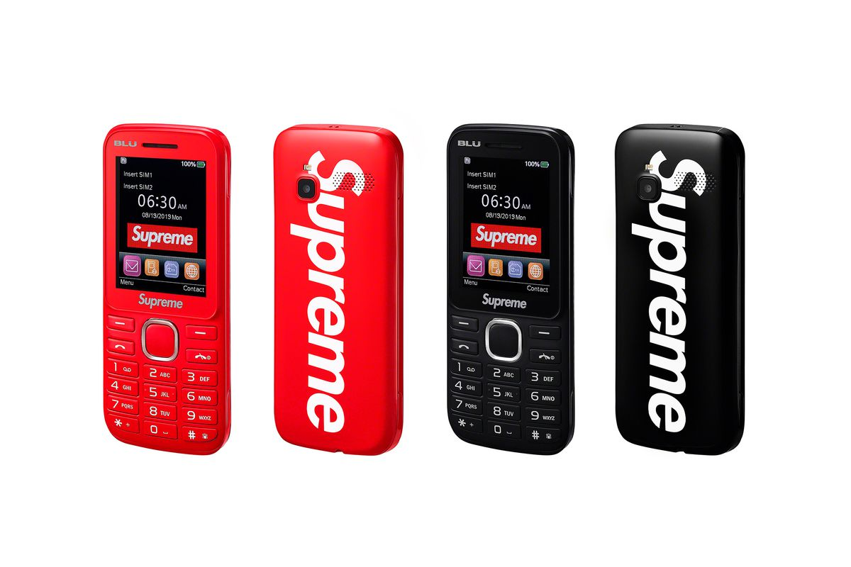 Supreme's new feature phone is for hypebeasts only - The Verge