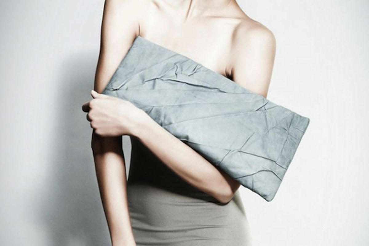 """Get these clutches in your clutches. Image via <a href=""""http://stylepantry.com/2011/05/24/architectural-oversize-clutches-by-anastasiya-komarova/"""">Style Pantry</a>"""