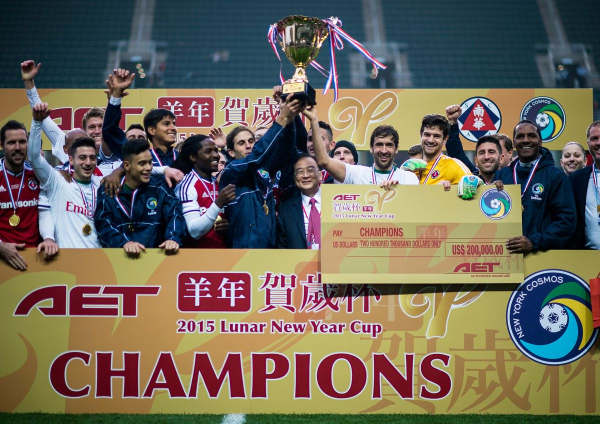 2015 Lunar New Year Cup - South China v New York Cosmos