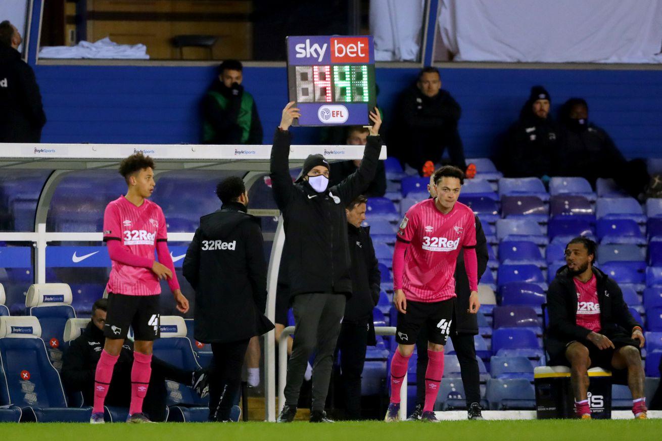 Birmingham City v Derby County - Sky Bet Championship - St Andrews Trillion Trophy Stadium