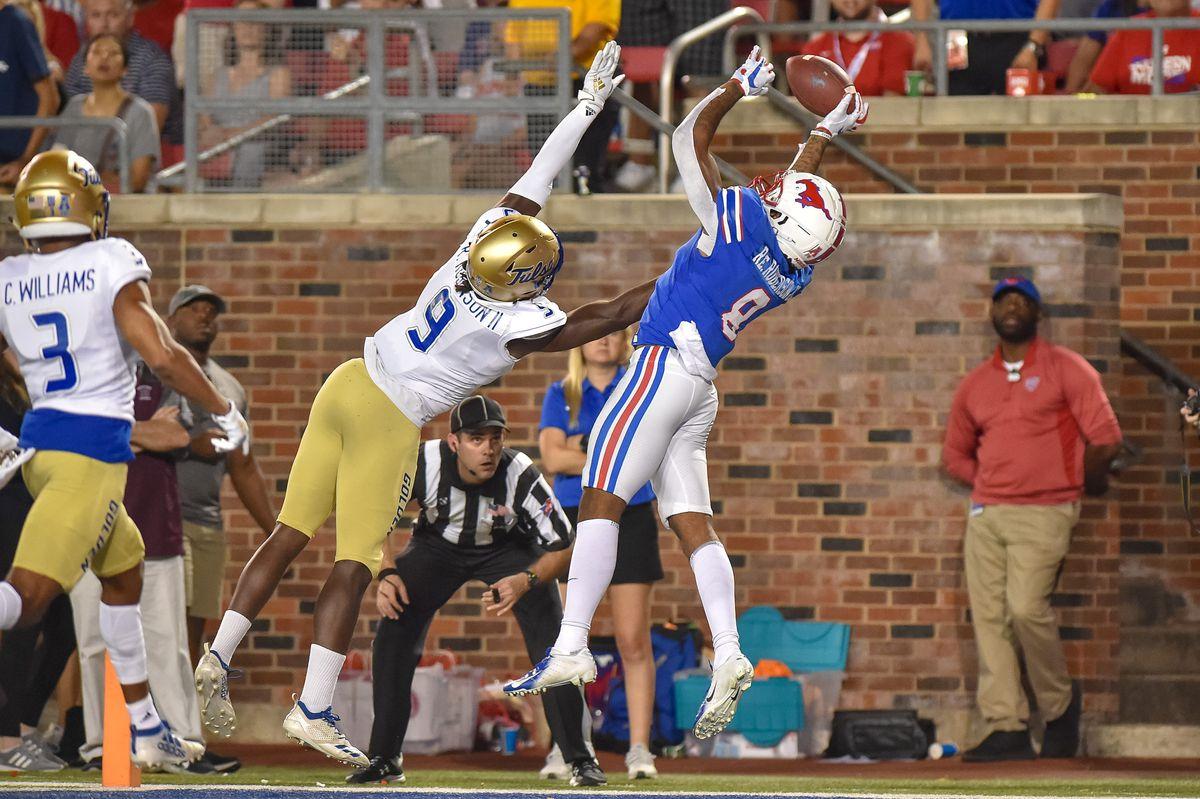 NCAA Football: Tulsa at Southern Methodist