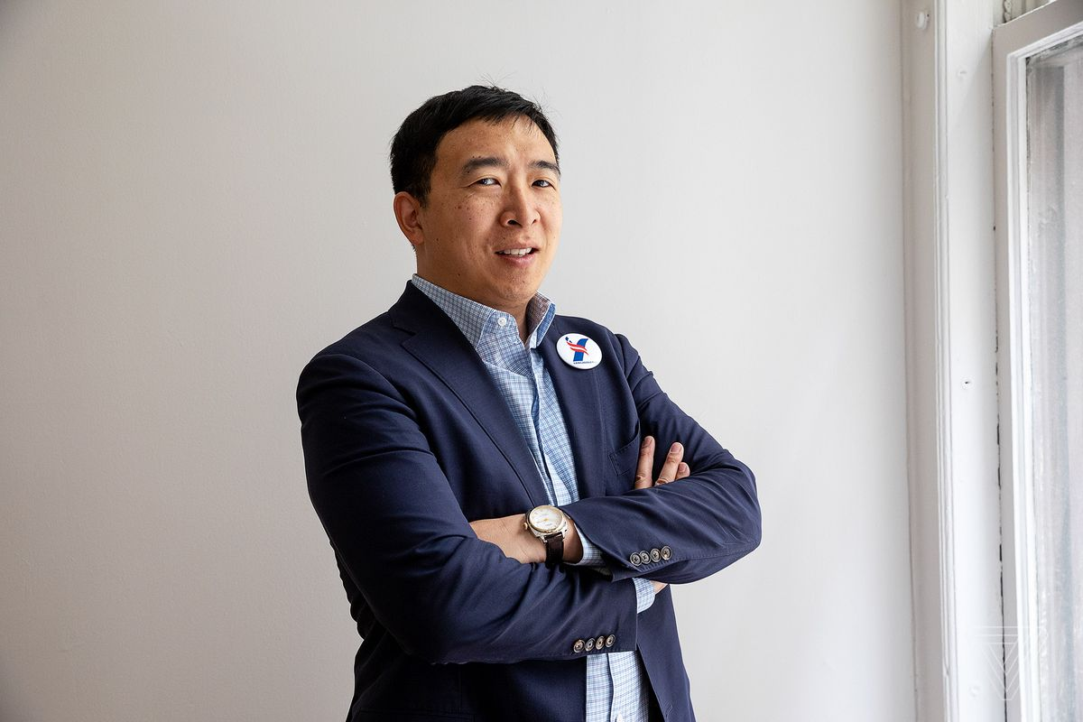 Andrew Yang has withdrawn from the 2020 presidential race