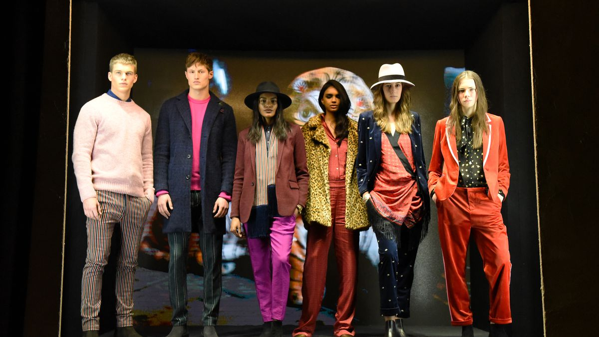 Models in Scotch & Soda clothing.