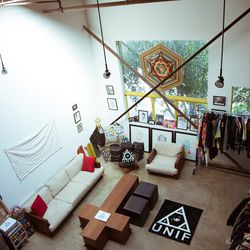 Birdseye view of the UNIF offices.