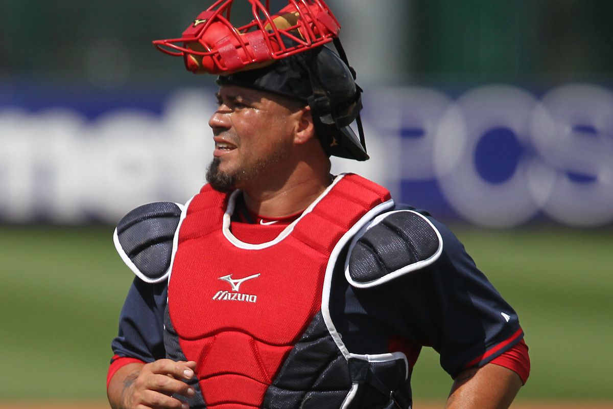 Red Sox Triple-A catcher nails Luke Maile in stomach with throw ...