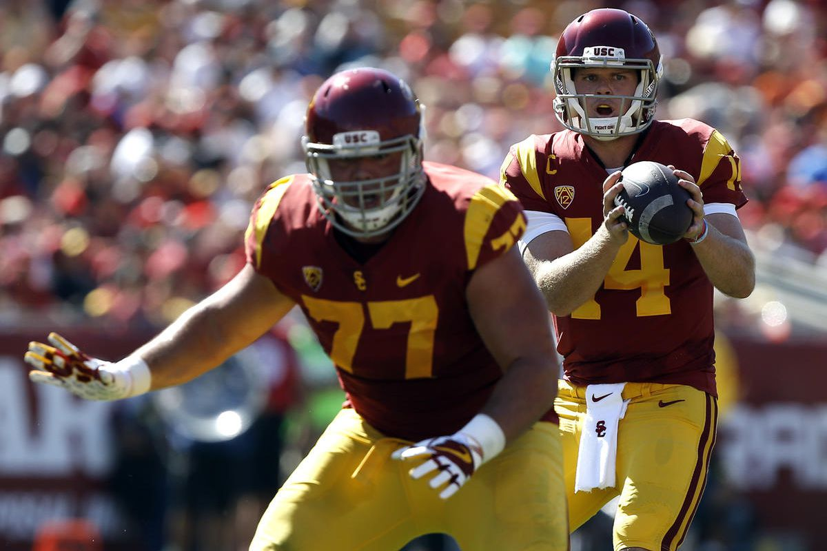 huge selection of 2fc8f 6a242 USC's Sam Darnold will be Utes' first date with premier QB ...