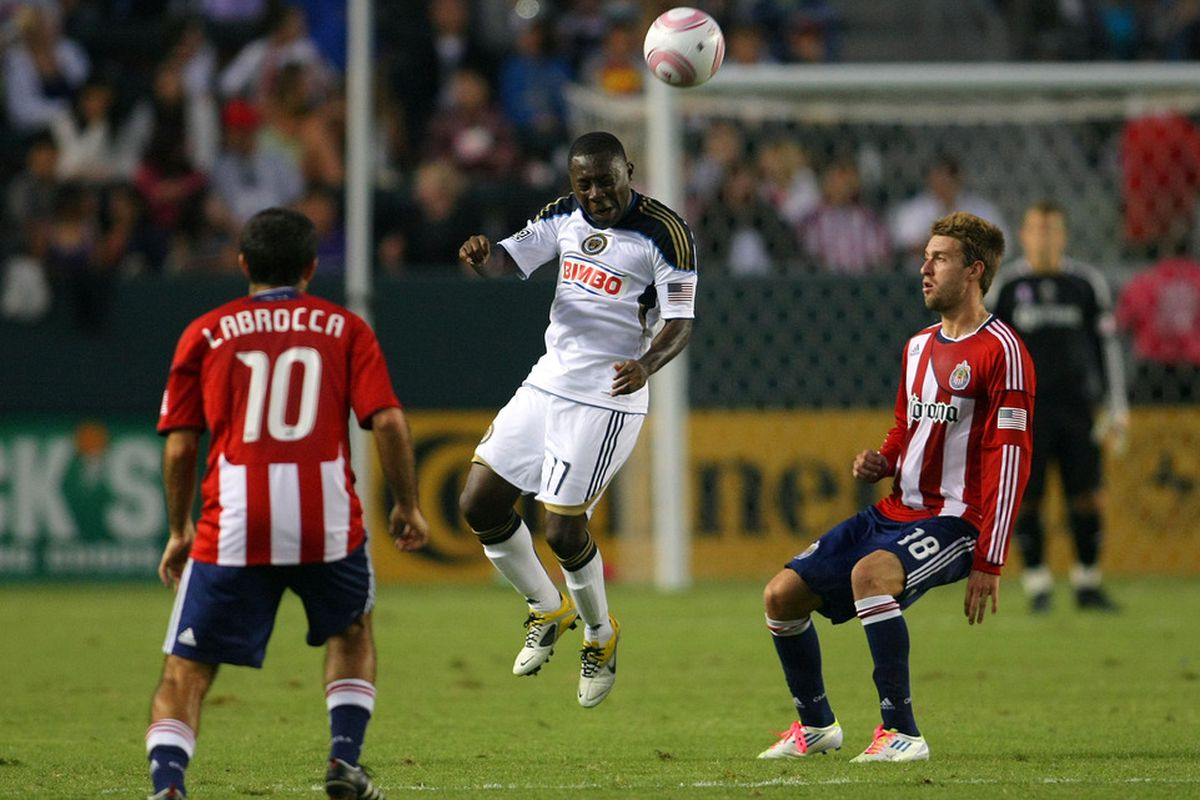 CARSON, CA - OCTOBER 02:  Adu: Maybe it's better he didn't go to Chivas? (Photo by Victor Decolongon/Getty Images)