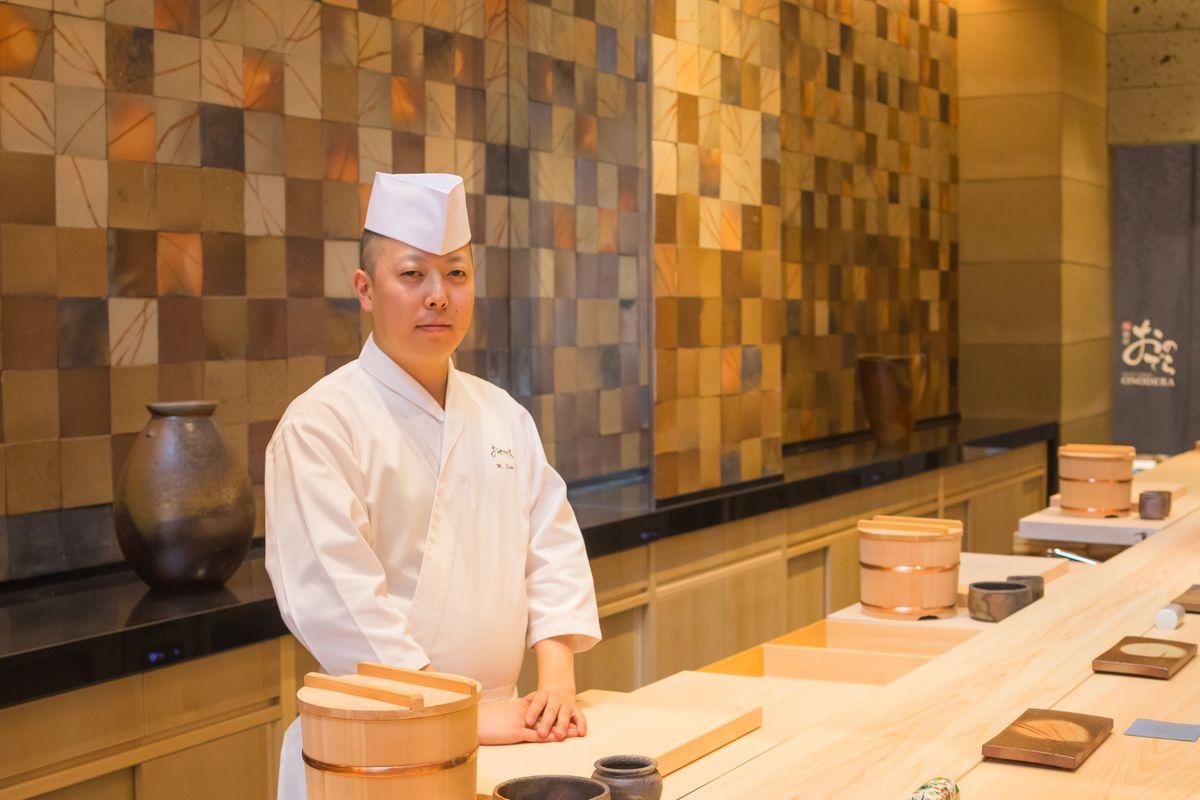 [Chef Masaki Saito]