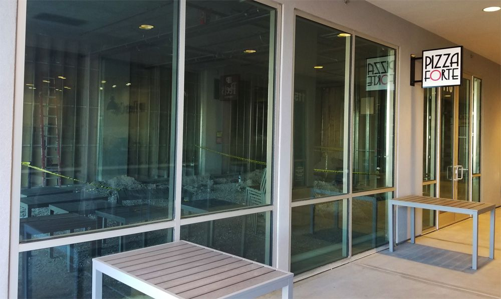 Future home of the casual Italian menu of Pizza Forte, headed to Maryland Parkway.