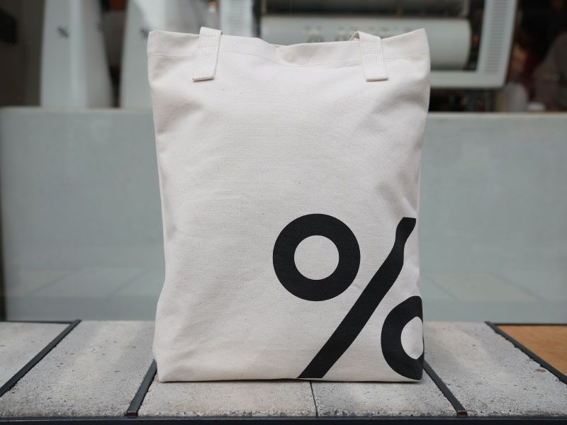 % Arabica Kyoto will open its first London coffee shop, with these tote bags