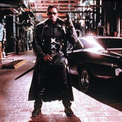 "Wesley Snipes in ""Blade."""