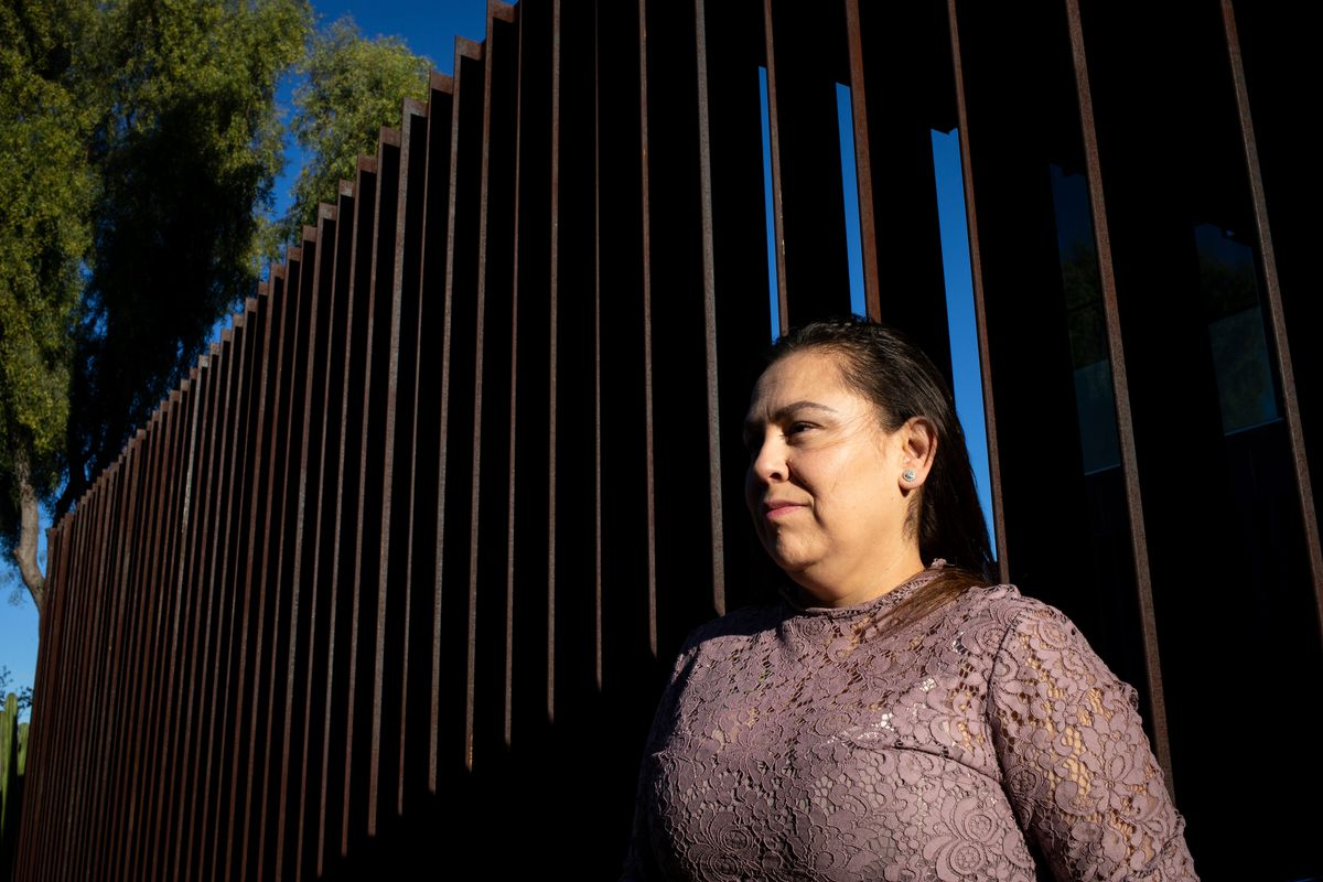 A portrait of Ruby Torres, taken Thursday Jan. 30, 2020, in Phoenix, Arizona. Torres is fighting a court ruling that she must donate her embryos.