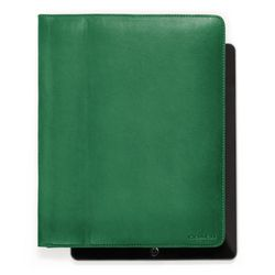 "<a href=""http://www.coach.com/online/handbags/ProductDetailWrapperView?storeId=10551&catalogId=10051&langId=-1&partNumber=61223_eme&cid=D_B_RAC_2957"">Bleecker Leather iPad Case</a> in emerald, $198"