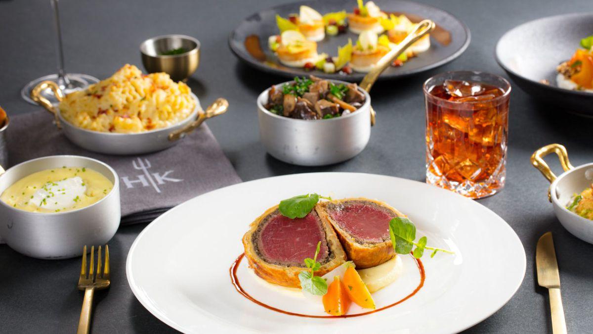Beef Wellington at Gordon Ramsay Hell's Kitchen