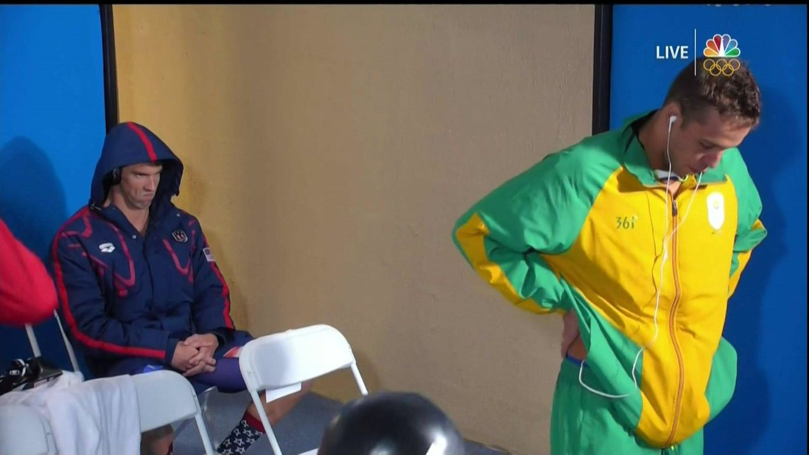 The Rivalry Between Michael Phelps And Chad Le Clos Turned