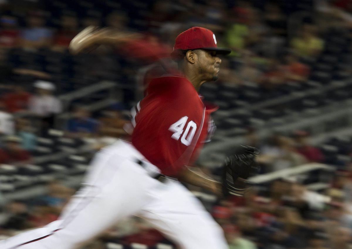 MLB: Game Two-Colorado Rockies at Washington Nationals
