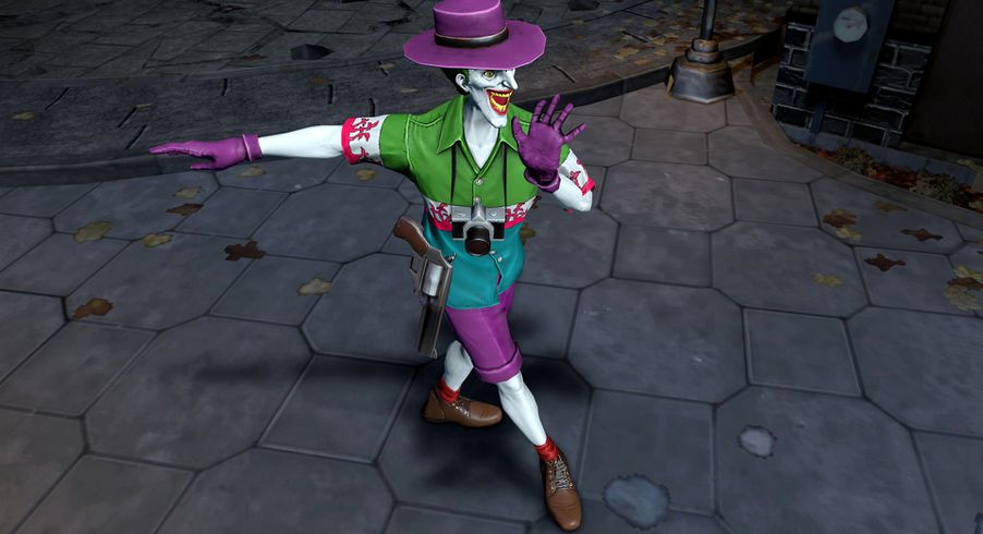 Catwoman Aquaman Joker Get Weird And Wet In Infinite Crisis 2014 Summer Collection Polygon