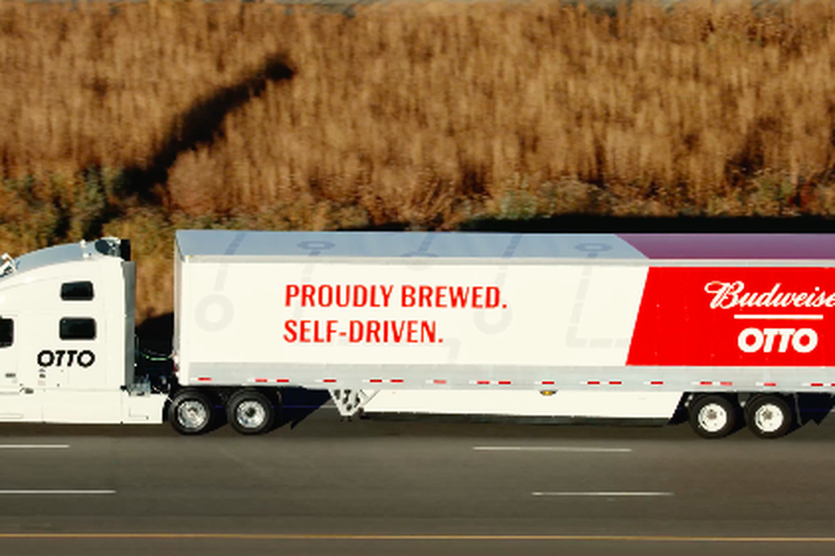 Uber's Self-Driving Truck Just Delivered 50,000 Budweiser ...