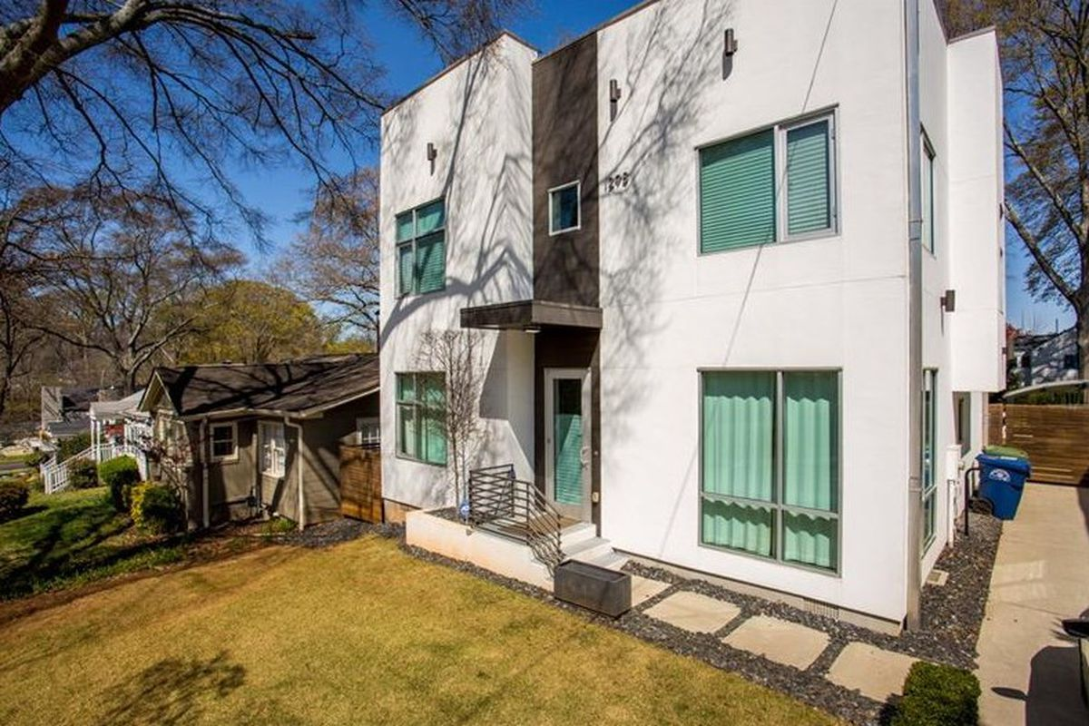 A photo of a modern house for sale in Edgewood.