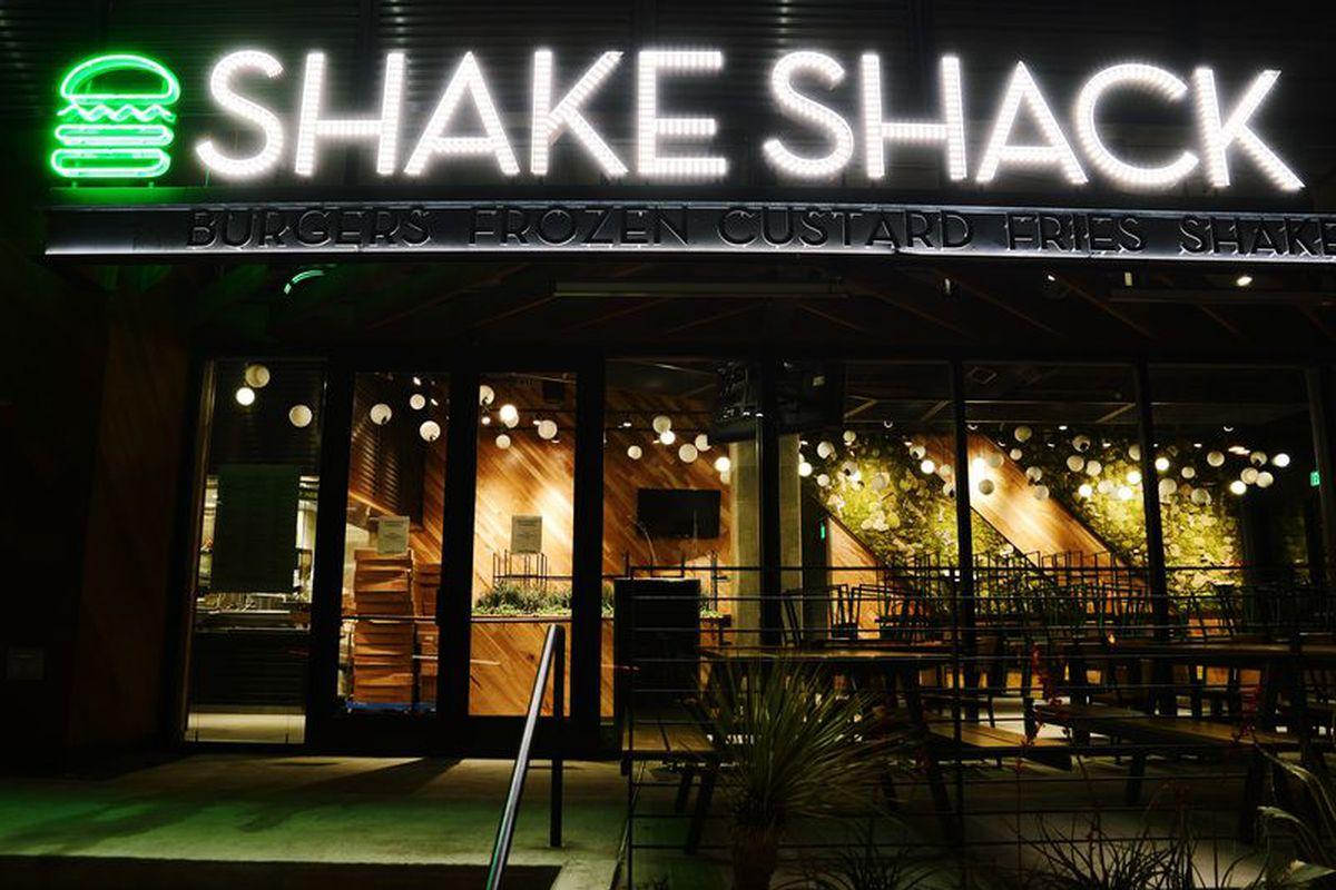 Austin's first Shake Shack.