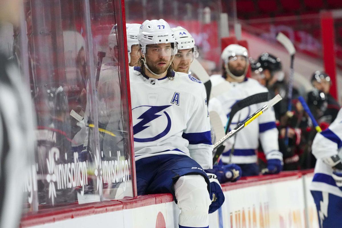 NHL: Tampa Bay Lightning at Carolina Hurricanes
