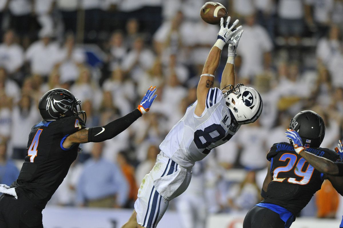 BYU is 2/2 on Hail Marys and 2-0 overall