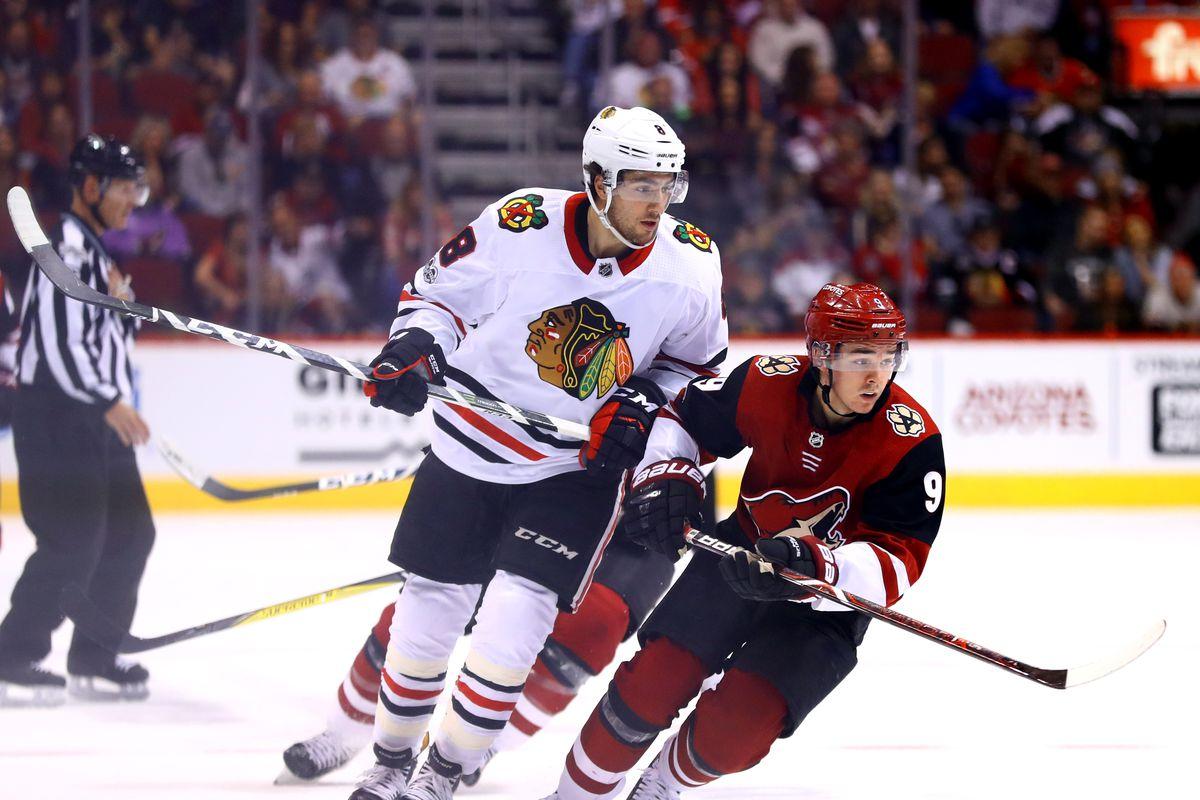 NHL: Chicago Blackhawks at Arizona Coyotes