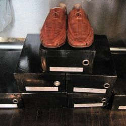 A small selection of Loden Dager for Esquivel shoes